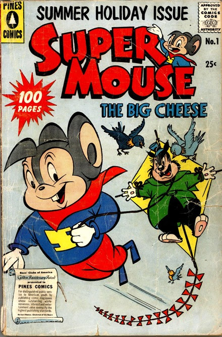 Supermouse the Big Cheese Summer Holiday Special 1957 Pines