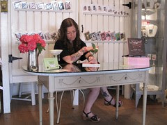 Booksigning at Barefoot Contessa in Vancouver