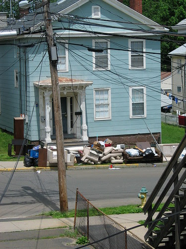 Garbage house