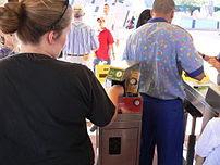 At Walt Disney World biometric measurements ar...