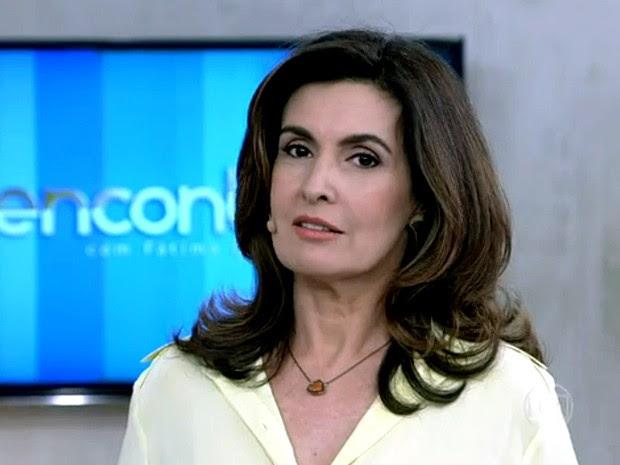 Fátima relembra como foi a escolha dos nomes dos filhos (Foto: Encontro/TV Globo)