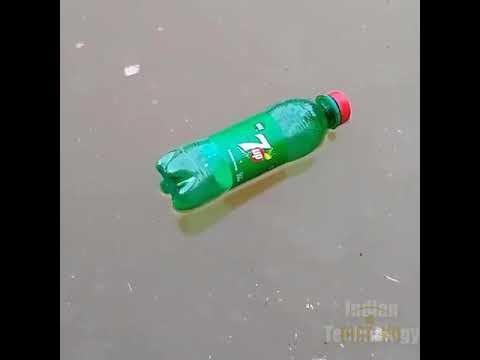 Clip hướng dẫn cách câu cá bằng chai nhựa mà không dùng cần