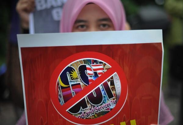'Kucing Marah' simbol baru perjuangan anti GST