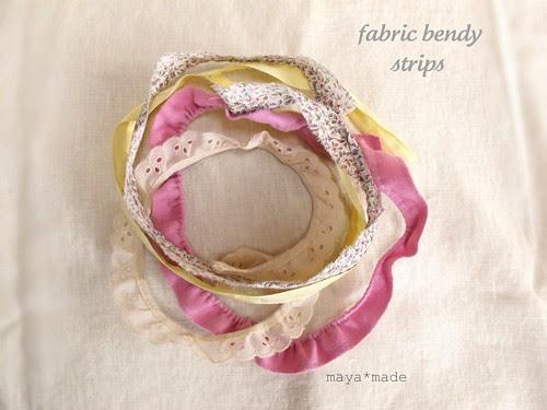 fabric bendy strips