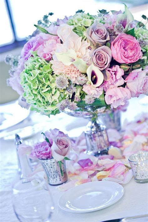 27 Stunning Spring Wedding Centerpieces Ideas   Tulle