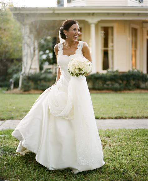 Southern wedding   gown with sleeves