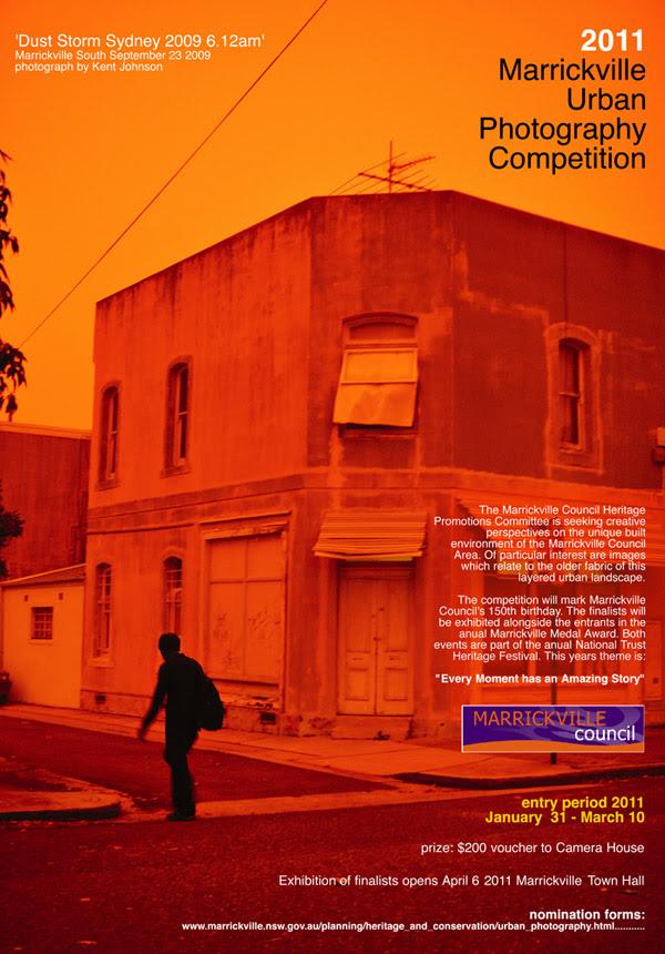 Urban Photo Poster Orange