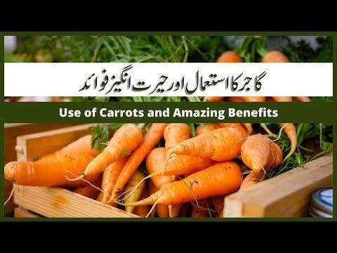 Gajar ke Fayde | Health Benefits of Carrot / beauty tips in Urdu