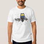 Owl with scarf shirt