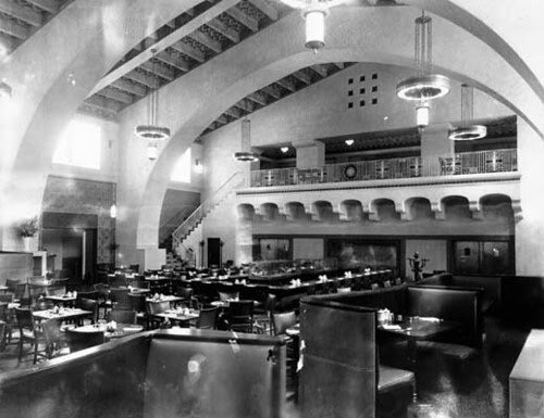 Harvey House, Union Station, Los Angeles