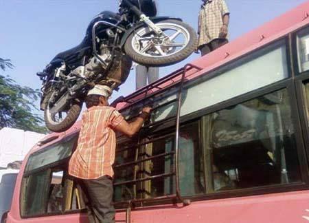 Angkat Motor Dengan Kepala