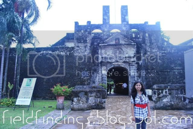 fort san pedro entrance