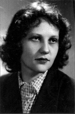 Barbara Kwiecińska (4.11.1933-8.08.2010).
