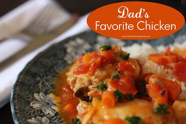 Dad's Favorite Chicken