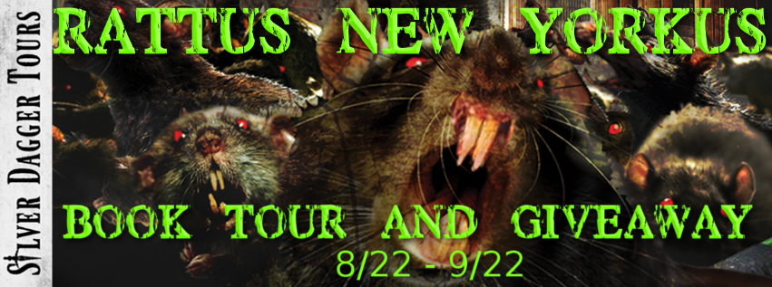 Rattus New Yorkus Book Tour + Amazon Giveaway
