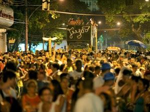 Banda Haddock desfila no dia 7 de fevereiro (Foto: Paulo Mumia / Riotur)