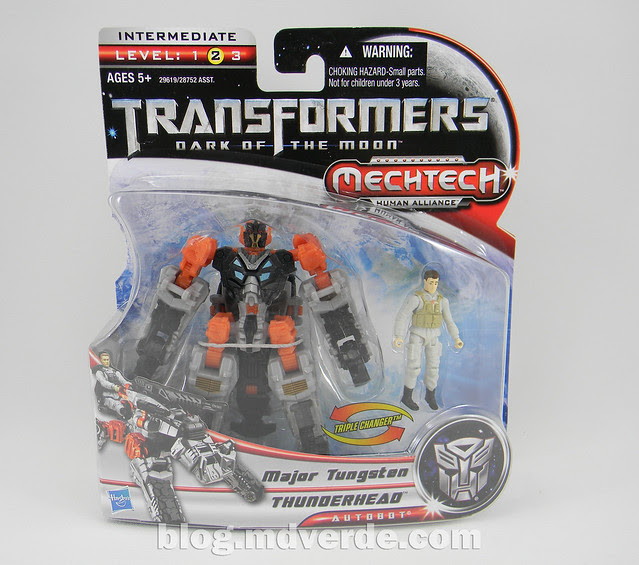 Transformers Thunderhead DotM Human Alliance - caja
