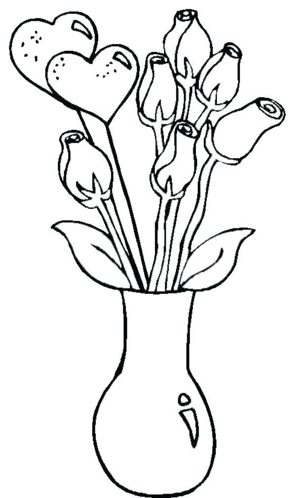 Beautiful Easy Flower Drawings In Pencil