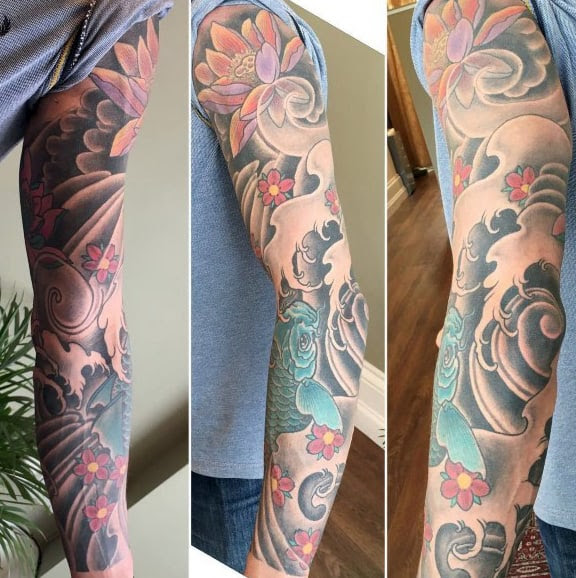 100 Cherry Blossom Tattoo Designs For Men Floral Ink Ideas