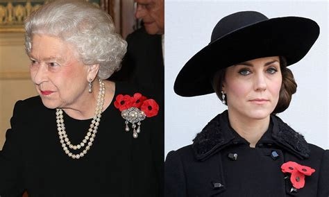 Jewelry Kate Middleton has borrowed from the Queen   HELLO