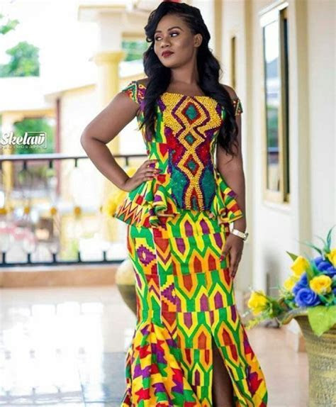 kente fashion ghana wedding   Kente Styles in 2019