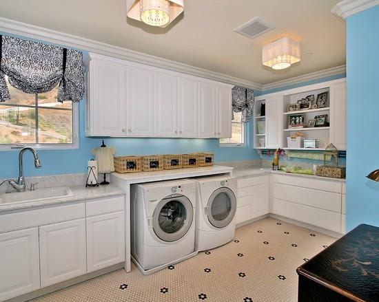 Laundry room flooring ideas