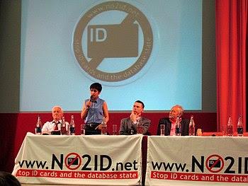English: Meeting in London against identificat...