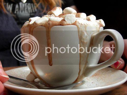 cioccolata calda e marshmallow, hot chocolate, cocoa