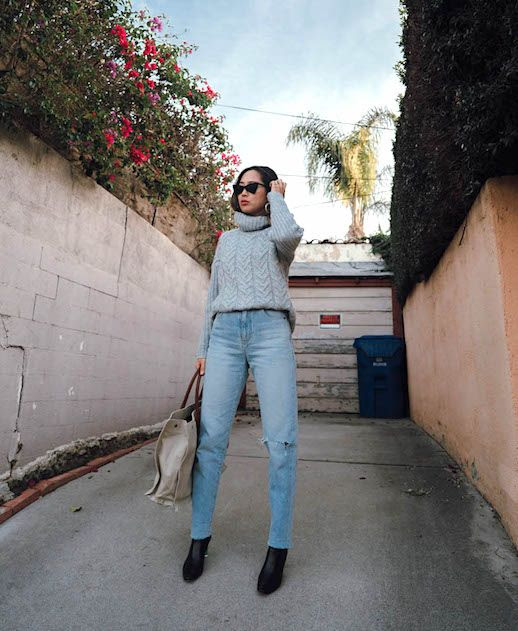 Le Fashion Blog Aimee Song 12 Pairs Of Light Wash Jeans To Buy Now Via Song of Style