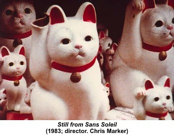 Still from Sans Soleil (1983; director. Chris Marker) by artimageslibrary