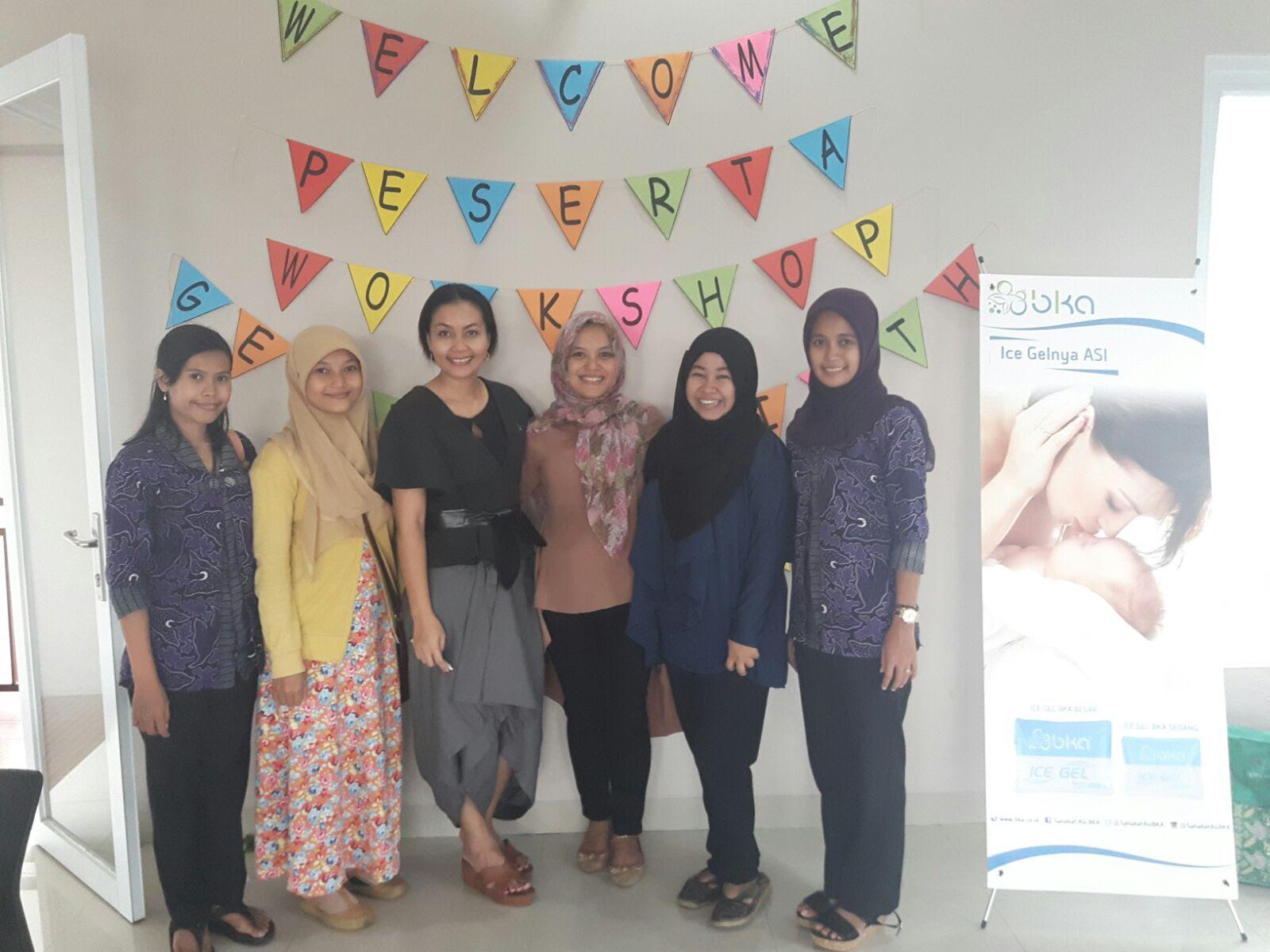 ini ada serangkaian acara yang harus saya hadiri di Jakarta Gentle Birth Balance Class di DEPOK