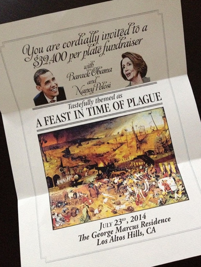 "Silicon Valley Artist Strikes at the Heart of Obama's Oligarch Infatuation – ""A Feast in Time of Plague"" Screen Shot 2014 07 29 at 1.57.58 PM 774x1024"