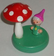 60's Elf & Mushroom