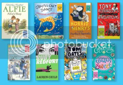 World Book Day Books 2013