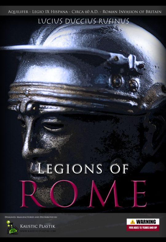 Aquilifer Legio IX Hispana Lucius Duccius Rufinus