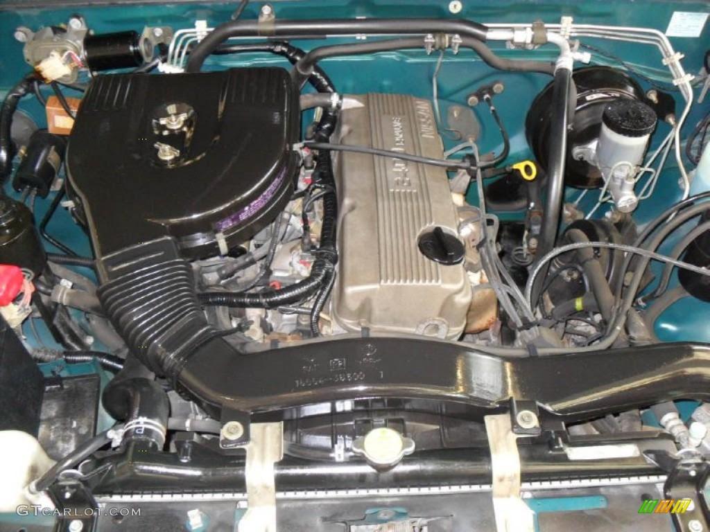 1995 Nissan Hardbody Truck XE Extended Cab 2.4 Liter SOHC ...