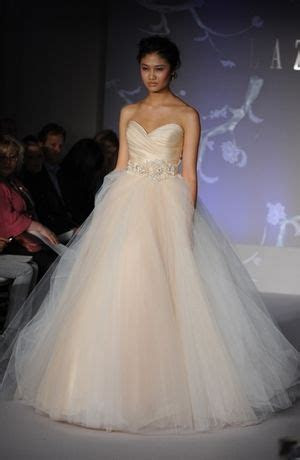Bridal Gowns: Lazaro Princess/Ball Gown Wedding Dress with