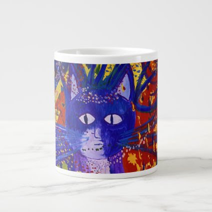 Arriving - Abstract Modern Love Party Extra Large Mugs