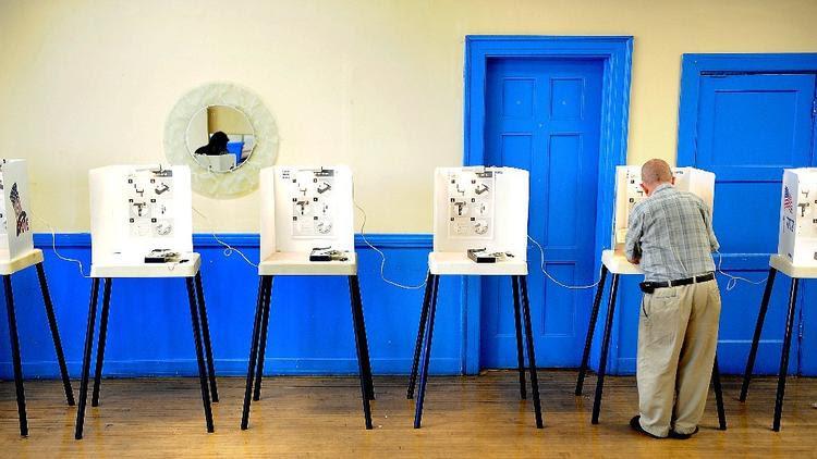 Voting in Los Angeles
