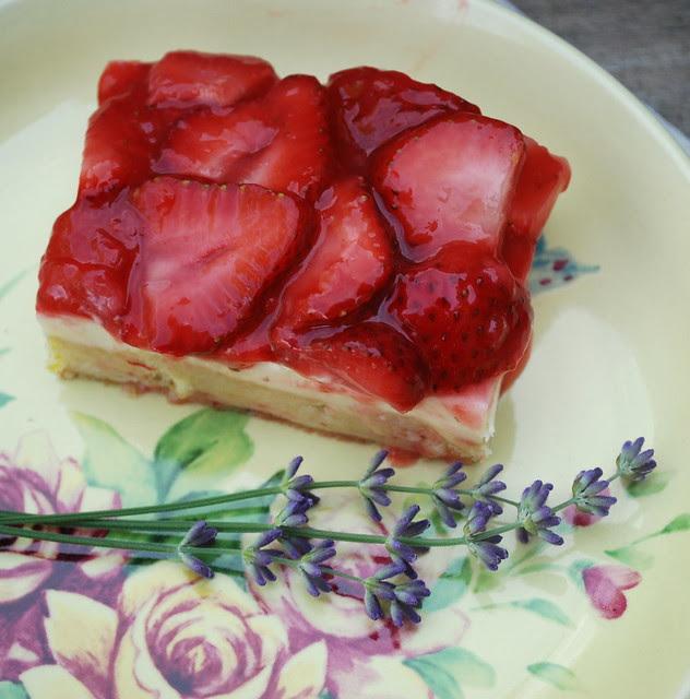 Strawberries & Cream Squares 1