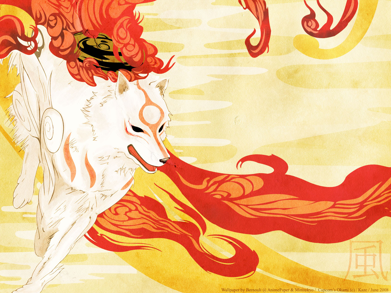 Okami Wallpaper Run Like Wind Minitokyo