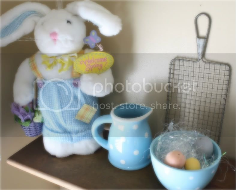 light up bunny, polka dots