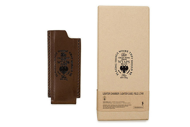 wtaps leather lighter case WTAPS Leather Lighter Case