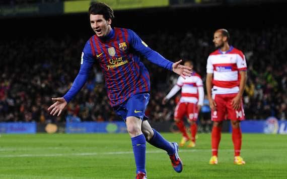 Lionel Messi, Barcelona, Granada