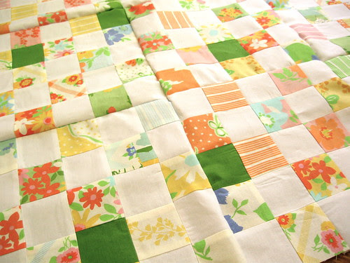 dream on quilt top