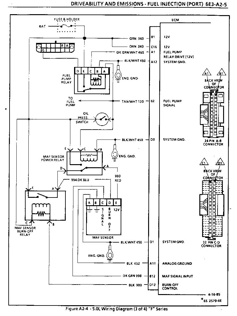 1995 lt1 wiring harness diagram schematic image 7