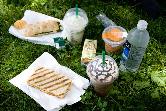 our (starbucks) loot