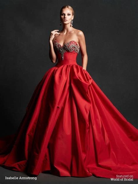 17  best images about Wedding Dresses: Red on Pinterest