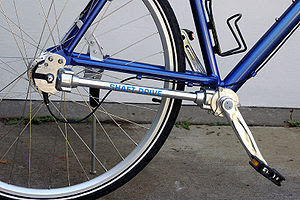 Shaft-driven bicycle Photo © by Jeff Dean