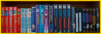 Row 5 of the Star Wars VHS Collection. Click for bigger.